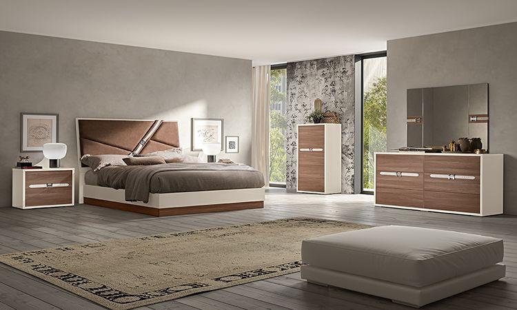 Schlafzimmer Evolution Naturfarbe