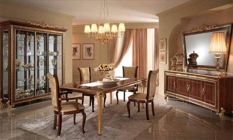 Wohnzimmer Esszimmer Giotto Nussbaumfarbe Hochglanz Online Kaufen