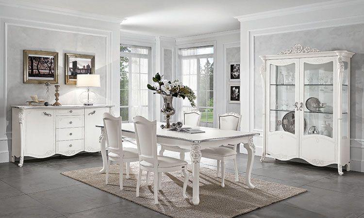 Wohnzimmer Esszimmer Viola Bianca Mobilpiu