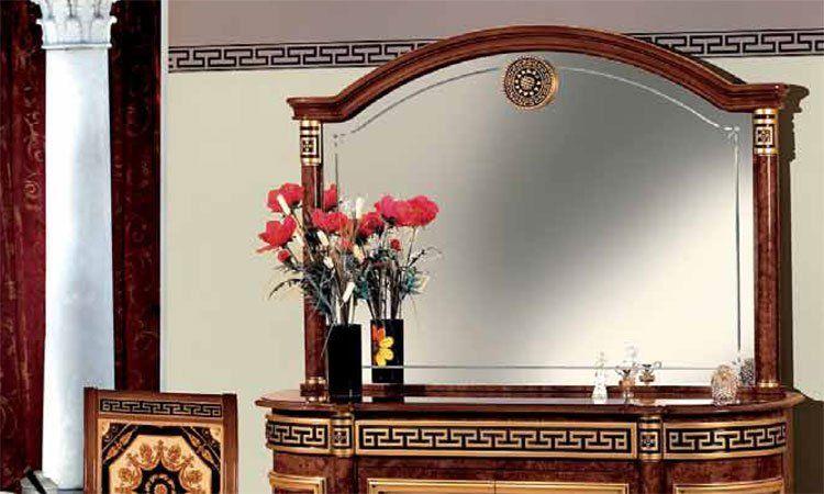 exklusive eckvitrine meander deco hochglanz luxus stilm bel design italienische ebay. Black Bedroom Furniture Sets. Home Design Ideas