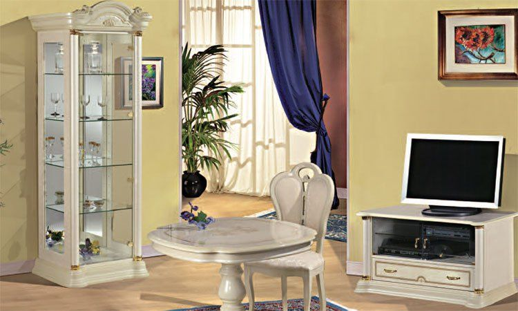 wohnzimmer florence avorio komp 2. Black Bedroom Furniture Sets. Home Design Ideas