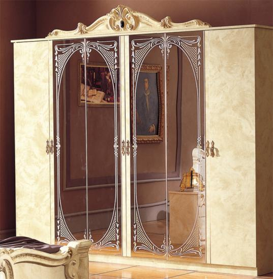 Kleiderschrank designermöbel  Kleiderschrank Barocco Beige Klassik Stilmöbel Italien ...