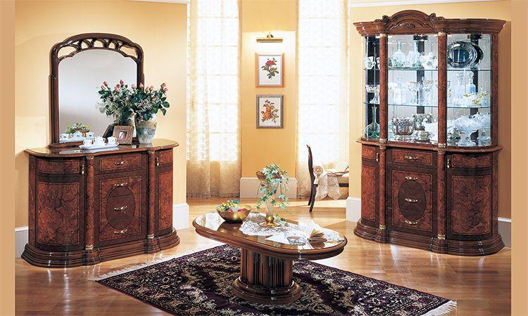 wohnzimmer florence noce komp 2. Black Bedroom Furniture Sets. Home Design Ideas