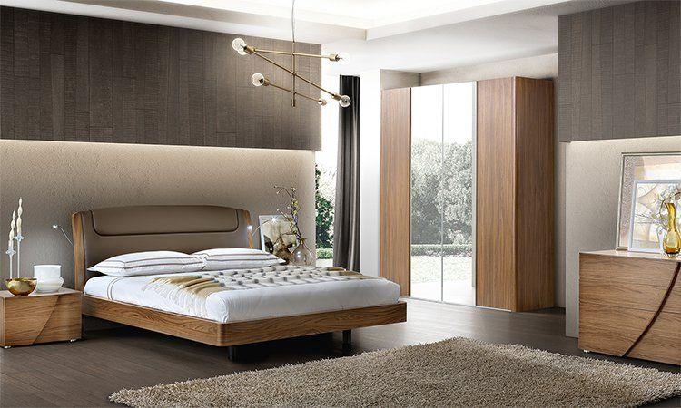 Schlafzimmer Luna Nussbaum Holzfurnier Online Kaufen Spels Mobel