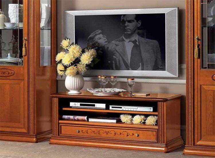 tv schrank anrichte kirschbaum siena klassische stilm bel. Black Bedroom Furniture Sets. Home Design Ideas