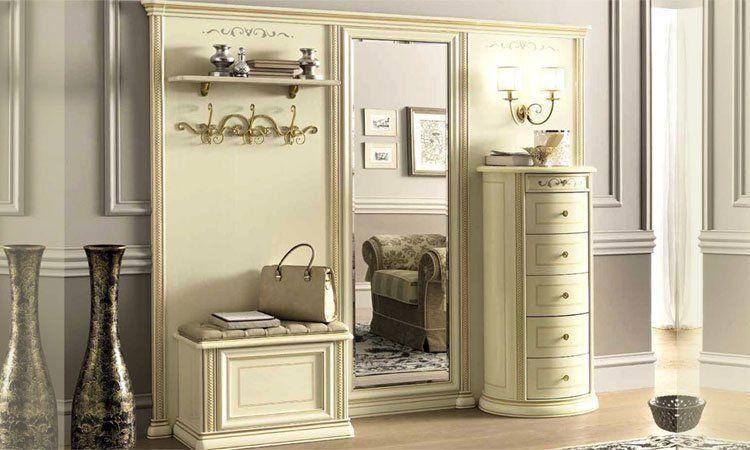 luxus entrance flur diele vorraum m bel siena avorio. Black Bedroom Furniture Sets. Home Design Ideas