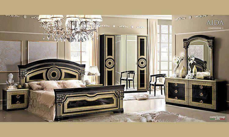 Schlafzimmer Aida Gold