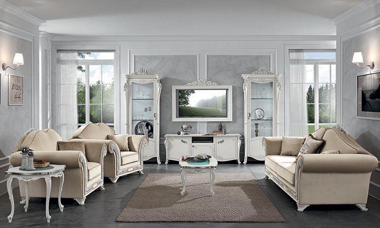 wohnzimmer esszimmer viola bianca mobilpiu. Black Bedroom Furniture Sets. Home Design Ideas