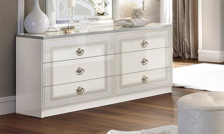 kleiderschrank schlafzimmerschrank spiegelt ren beige. Black Bedroom Furniture Sets. Home Design Ideas