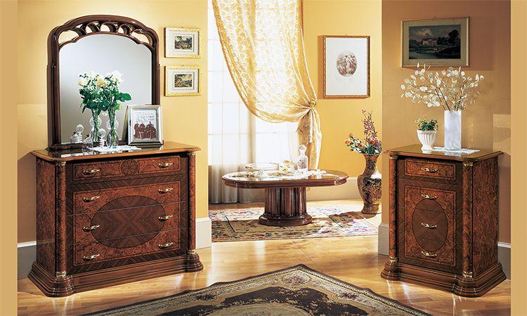 wohnzimmer florence noce komp 1. Black Bedroom Furniture Sets. Home Design Ideas