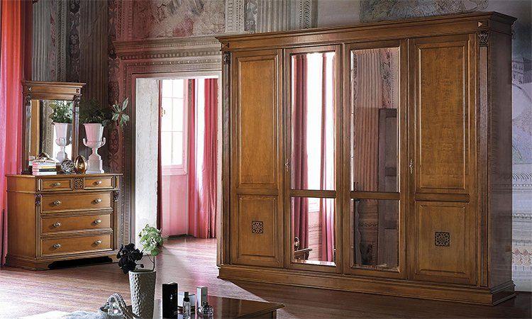 Schlafzimmer Puccini Kirschbaumfarbe Online Kaufen Spels Möbel