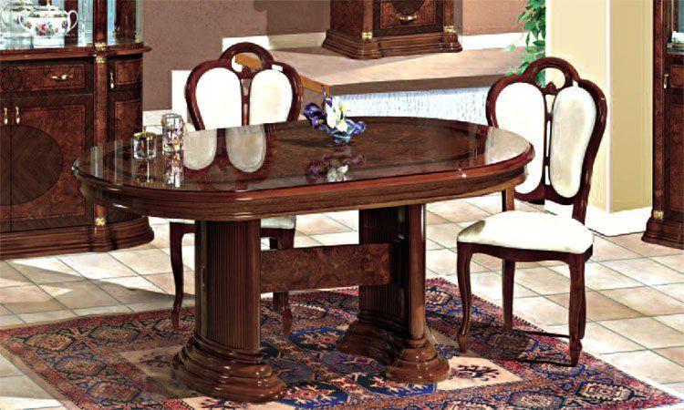 Wohnzimmer Esszimmer Florence Nussbaumfarbe Hochglanz Komp3 Online