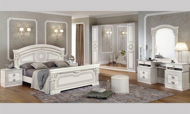 Schlafzimmer aida silber - Gebrauchte schlafzimmer komplett ...