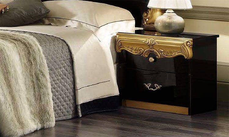 nachttisch schrank schwarz cool schwarz hochglanz grau rund nachttisch schrank wei kommode holz. Black Bedroom Furniture Sets. Home Design Ideas