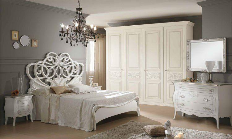 italienische schlafzimmer komplett in hochglanz spels m bel. Black Bedroom Furniture Sets. Home Design Ideas
