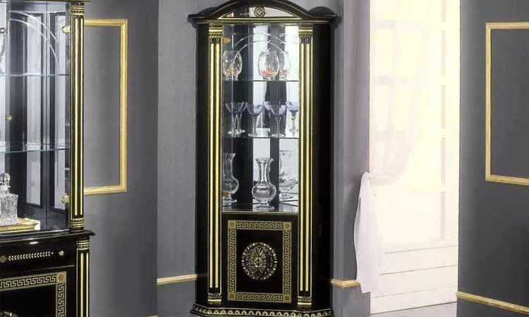 Wohnzimmer Rossella Schwarz-gold Komp.3 Wohnzimmer Gold Schwarz