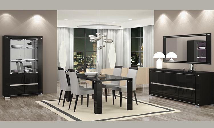 Wohnzimmer Esszimmer Armonia Diamond Schwarz