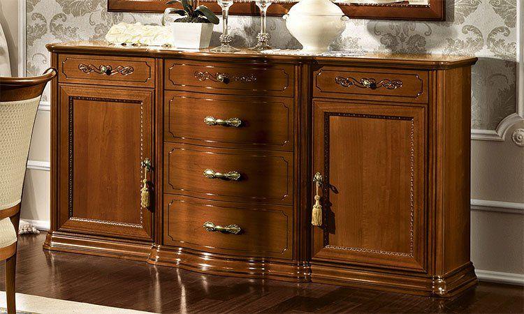klassisches wohnzimmer torriani farbe nussbaum furnier stilm bel aus italien ebay. Black Bedroom Furniture Sets. Home Design Ideas