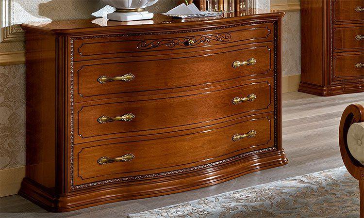 luxus herrenkommode farbe nussbaum torriani vip furnier stilm bel aus italia top ebay. Black Bedroom Furniture Sets. Home Design Ideas