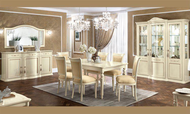 luxus wohnzimmer torriani farbe avorio furnier stilm bel aus italien klassisch ebay. Black Bedroom Furniture Sets. Home Design Ideas