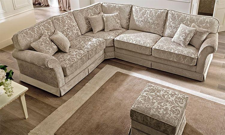 Elegantes ecksofa couch polster stoff zeitlose klassische for Klassische mobel ebay
