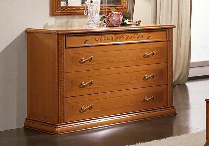 frisiertisch frisierkommode schminktisch kirschbaum lackiert italienische m bel ebay. Black Bedroom Furniture Sets. Home Design Ideas