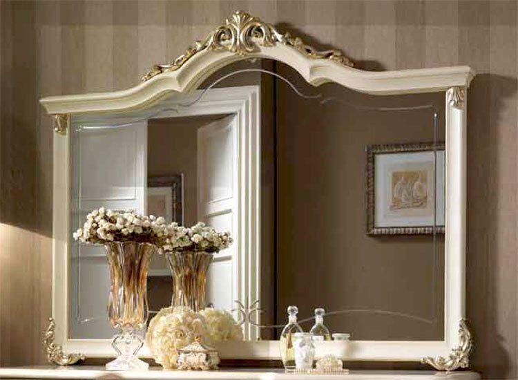 Damenkommode frisierkommode schminktisch linde lackiert stil m bel aus italien ebay - Stilmobel italien ...