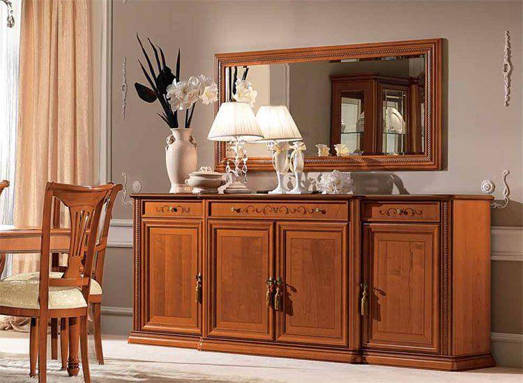 Luxus wohnzimmer kirschbaum furnier klassische klassische m bel aus italien ebay - Einrichtung aus italien klassischen stil ...