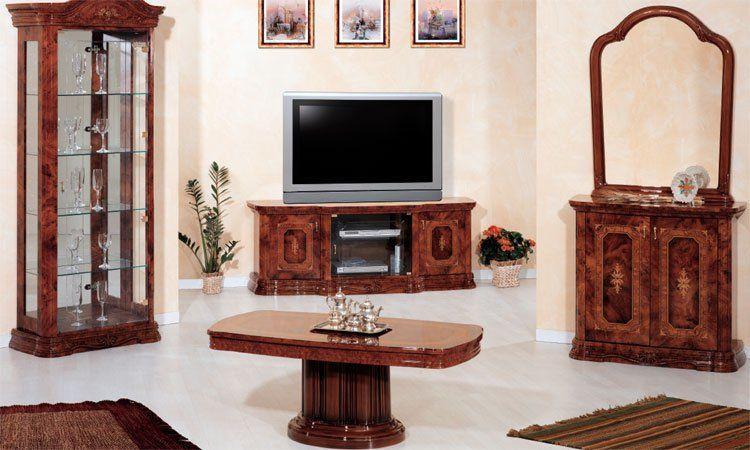 Wohnzimmer amalfi noce komp 3 for Exklusive wohnzimmer tische