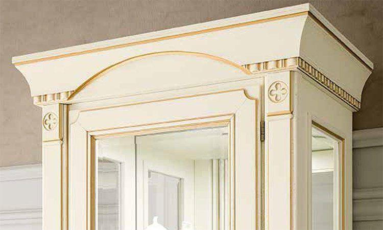 luxus wohnzimmer ducale elfenbein gold furnier holz aus. Black Bedroom Furniture Sets. Home Design Ideas