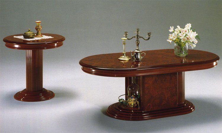 esstisch oval 200 50x105 cm nussbaum hochglanz klassische italienische stilm bel ebay. Black Bedroom Furniture Sets. Home Design Ideas