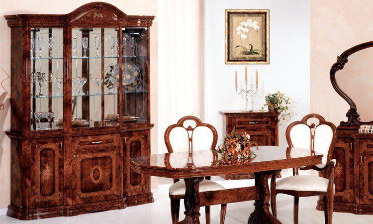 wohnzimmer amalfi noce komp 1. Black Bedroom Furniture Sets. Home Design Ideas