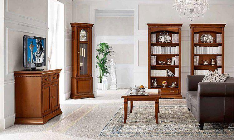 wohnzimmer ducale kirschbaum komp 2. Black Bedroom Furniture Sets. Home Design Ideas