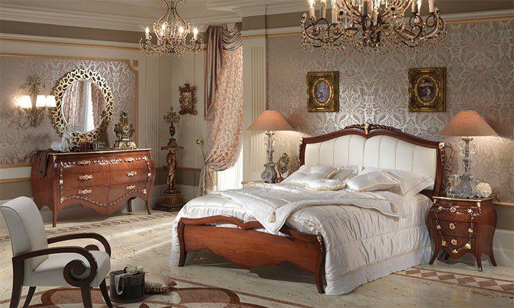 Schlafzimmer La Belle Epoque Nussbaumfarbe online kaufen - SPELS MÖBEL