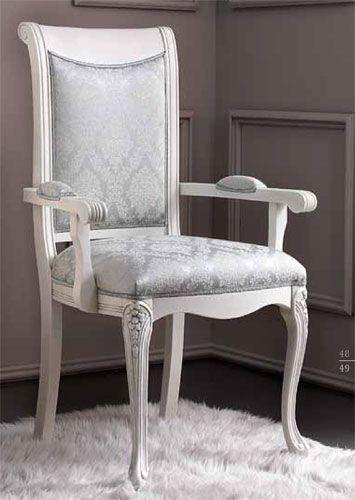 stuhl mit armlehne wei m belideen. Black Bedroom Furniture Sets. Home Design Ideas