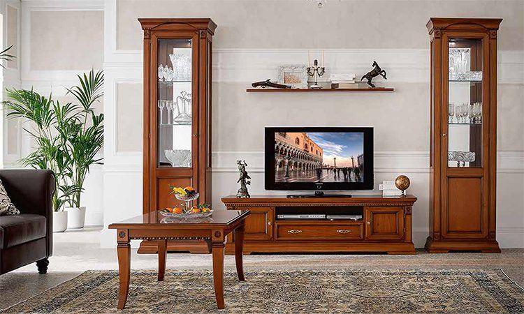 Luxus b ro b cher schrank 3 t rig kirschbaum stil moebel aus italien ebay - Einrichtung aus italien klassischen stil ...