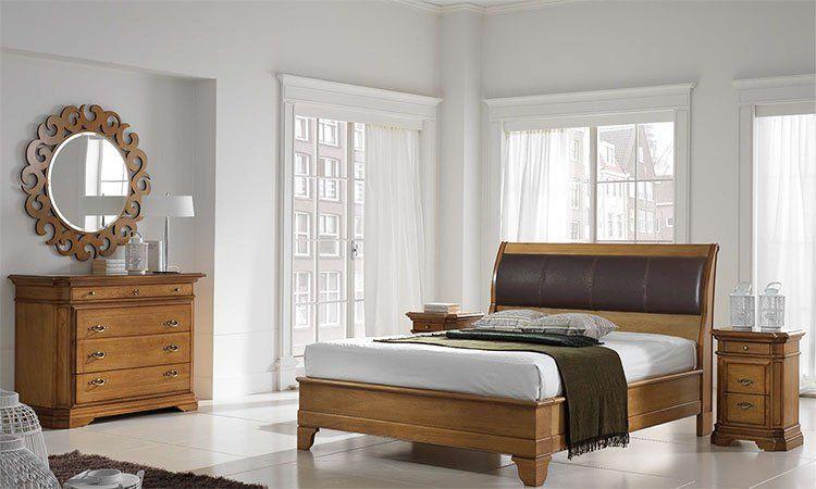 schlafzimmer margot walnuss weizen. Black Bedroom Furniture Sets. Home Design Ideas