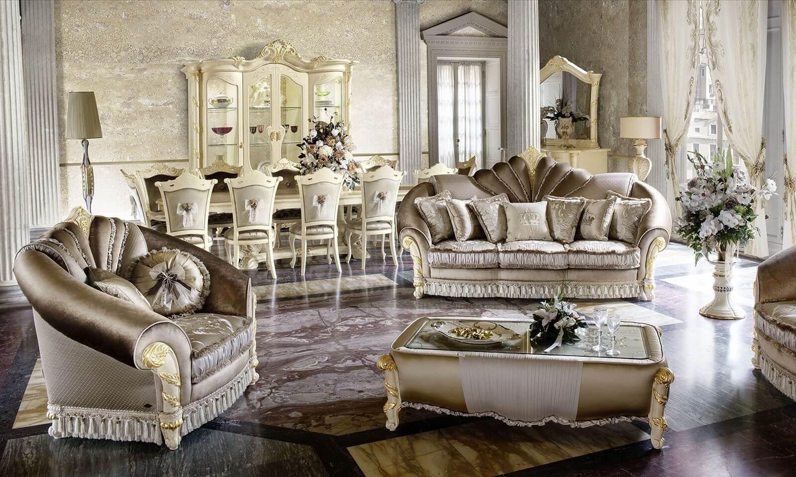 Luxus Barock Möbel online kaufen. Barock Betten ...