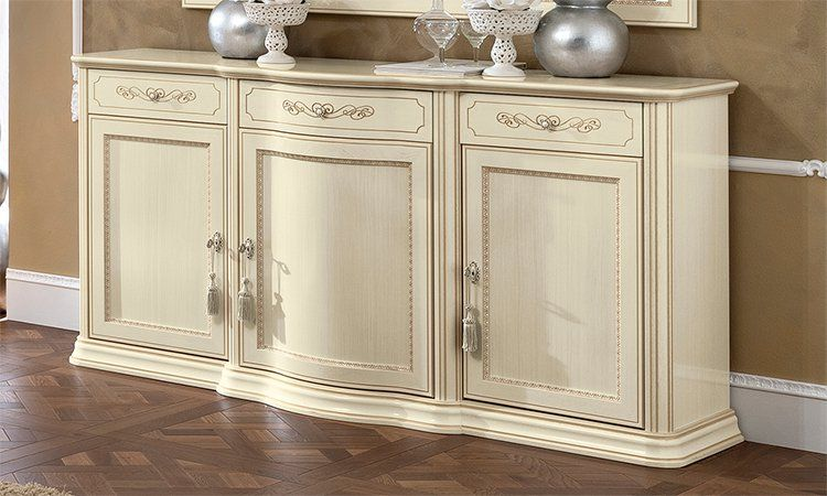 vitrine wohnzimmer buffetschrank beige massivholz. Black Bedroom Furniture Sets. Home Design Ideas