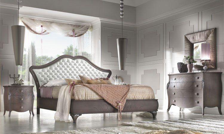 Schlafzimmer Diva Antik-Braun
