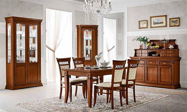 Esstisch Rechteckig Ausziehbar Kirschbaum Massivholz Stil