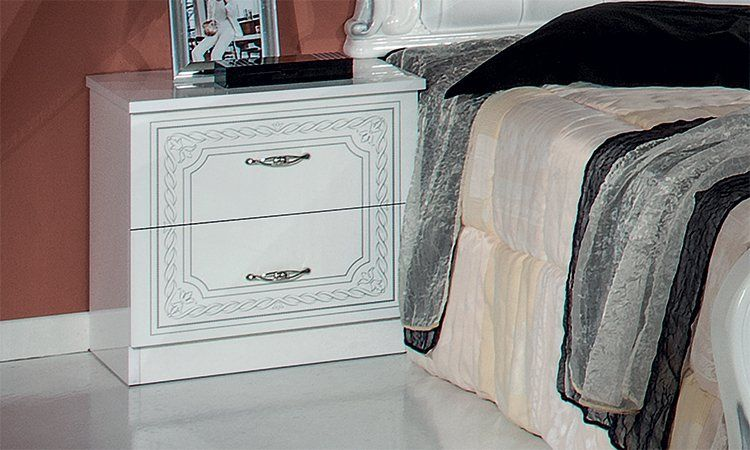 schlafzimmer komplett set wei hochglanz klassik stil. Black Bedroom Furniture Sets. Home Design Ideas