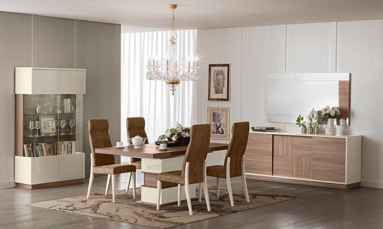 Wohnzimmer Esszimmer Evolution Nussbaum-Beige online kaufen - SPELS ...