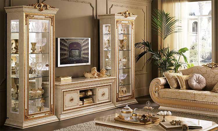 Wohnzimmer Esszimmer Leonardo Beige Arredoclassic Komp1 Online