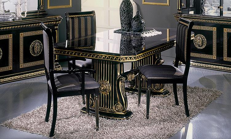 Wohnzimmer Esszimmer Rossella Schwarz Gold Komp.3. 12 Von 12 1 Von 12 2 Von  12 3 Von 12 4 Von 12 5 Von 12 6 Von 12 7 Von 12 ...