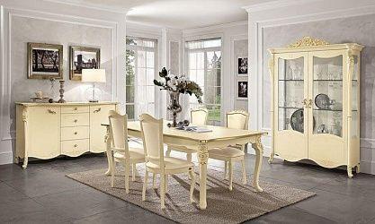 Charmant Wohnzimmer Esszimmer Viola Luxor Holzfurnier   Klassisch