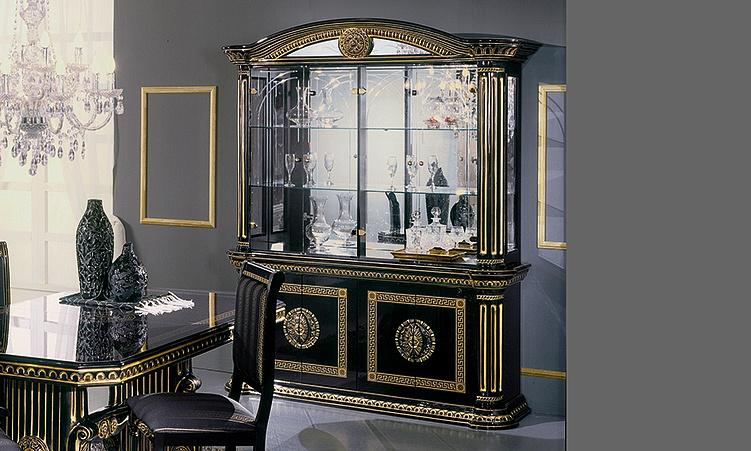 Wohnzimmer Esszimmer Rossella Schwarz Gold Komp.3. 12 Von 12 1 Von 12 2 Von  12 3 Von 12 4 Von 12 5 Von 12 ...