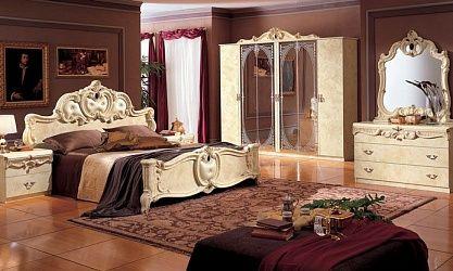 Exklusive Italienische Schlafzimmer komplett in Hochglanz ...
