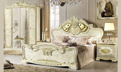Italienische Schlafzimmer klassik im Barockstil - SPELS MÖBEL