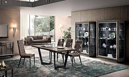 Exceptionnel Wohnzimmer Esszimmer Elite Rauch Grau   Modern